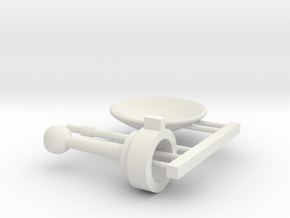 1/1000 Planetary Sensor Array Classic Mount Kit in White Premium Versatile Plastic