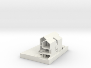 House With Base 2 in White Strong & Flexible
