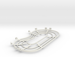 MA2 Propeller Cage 3D in White Natural Versatile Plastic