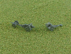 Russian 152mm M1909 Howitzer 1/285 in Smooth Fine Detail Plastic