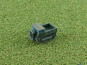 Russian Stalinetz S-2 Tractor 1/285 in Smooth Fine Detail Plastic