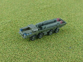 9T234 Smerch Ammo Truck 1/200 in Smooth Fine Detail Plastic