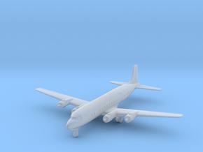 DC-6B/C-118 w/Gear (CW) in Smooth Fine Detail Plastic: 1:700