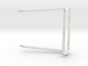 Proline Play'n For Keeps Roll Bar in White Natural Versatile Plastic