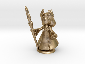 FantasyMinions S1 - FF XIV Kan-E-Senna in Polished Gold Steel
