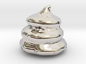 """Unko"" The Golden Poo Kin No Unko Lucky Charm SM in Platinum"