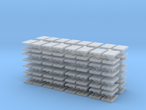 Euro Pallet (x128) 1/350 in Smooth Fine Detail Plastic