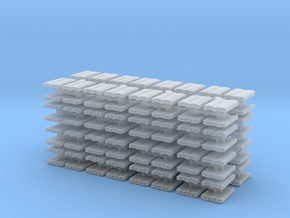 Euro Pallet (x128) 1/500 in Smooth Fine Detail Plastic