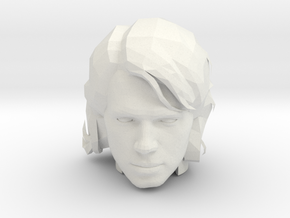 Anakin Skywalker Head | CCBS Scale in White Natural Versatile Plastic
