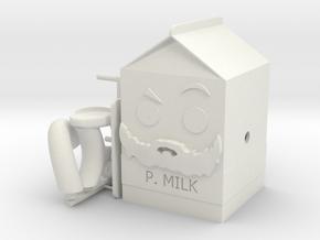 Grum P. Milk in White Natural Versatile Plastic