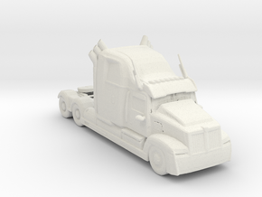 2013 Western Star 5700 1:160 scale (Optimus Prime in White Natural Versatile Plastic
