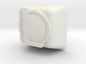league cherry mx key  in White Natural Versatile Plastic