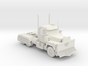 1973 Mack R-Series V2 1:160 scale (Road Warrior) in White Natural Versatile Plastic