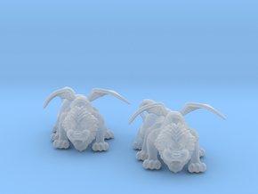 Manticore 6mm monster Infantry miniature model rpg in Smooth Fine Detail Plastic