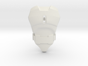 Smooth CCBS Torso | with Belt in White Natural Versatile Plastic