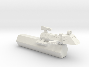 3788 Scale Kzinti Frigate Transport (FFT) SRZ in White Natural Versatile Plastic