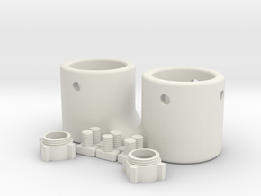 Micro 3d Kit in White Natural Versatile Plastic