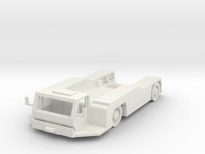 Goldhofer AST-1L Tractor 1/76 in White Natural Versatile Plastic
