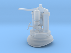 Quarry Hunslet Steam Turret for MAID MARIAN (SM32) in Smooth Fine Detail Plastic