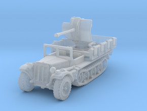Sdkfz 10/4 B Flak 38 (window up) 1/220 in Smooth Fine Detail Plastic