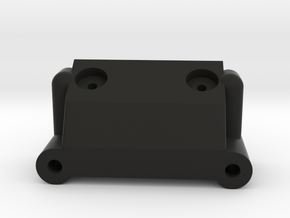 Team Associated Rc10 b2 Front Bulkhead 9125 in Black Natural Versatile Plastic
