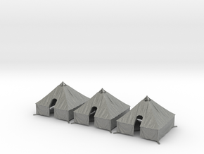 1/144 WWII US M1934 Tent 3 pcs. Value Pack in Gray PA12