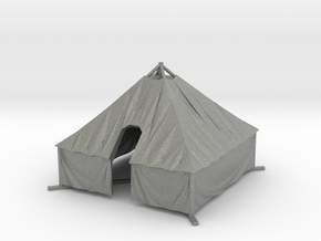 1/144 WWII US M1934 Tent in Gray PA12