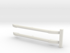 1-43 scale Roof Rack in White Natural Versatile Plastic