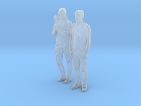 Printle C Couple 549 - 1/87 - wob in Smooth Fine Detail Plastic
