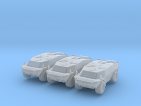 LGS Fennek APC (x3) 1/200 in Smooth Fine Detail Plastic