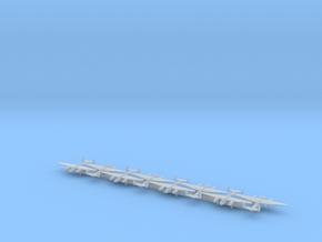 Tu-2 w/Gear x8 (WW2)(FUD) in Smooth Fine Detail Plastic: 1:700