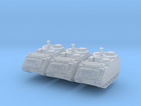 M113 German BeobPzArt (x3) 1/285 in Smooth Fine Detail Plastic
