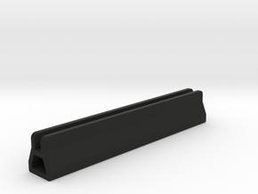 Alternative Acrylic Hologram Edge Light Mount in Black Natural Versatile Plastic