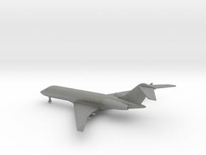 Bombardier Global 5000 in Gray PA12: 1:400