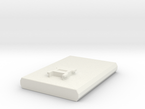 FlySky NB4 Fake Battery Stand in White Natural Versatile Plastic