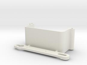 Schumacher cougar nicad holder and retainer in White Natural Versatile Plastic
