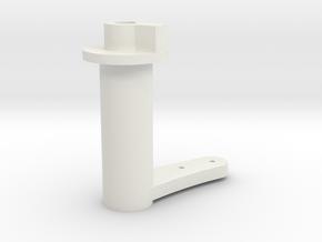 AYK Radiant RZ18 A servo saver in White Natural Versatile Plastic