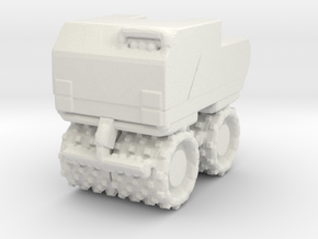 Trench Compactor 1/35 in White Natural Versatile Plastic