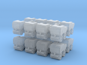 Trench Compactor (x16) 1/350 in Smooth Fine Detail Plastic