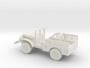 1/48 Scale Dodge WC-51 Wrecker in White Natural Versatile Plastic