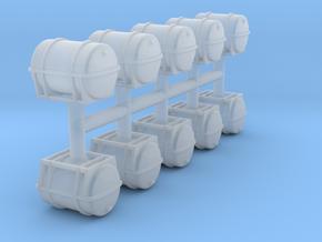 Fluid Tank 1/350 (10 pcs.) in Smoothest Fine Detail Plastic