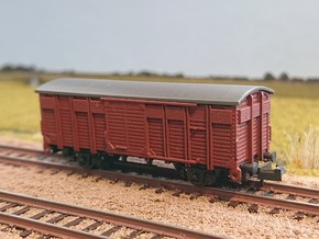 NS Goederenwagon CHKRS (18-luiker) 1930-1960 in Smoothest Fine Detail Plastic