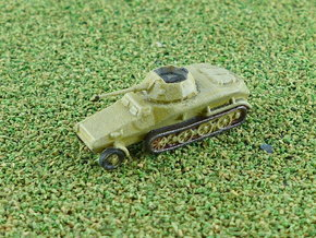 German 7,5cm SPG on 5to Tractor 1/285 6mm in Smooth Fine Detail Plastic