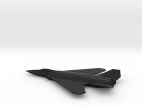 Dassault Aerospace NGF (New-Generation-Fighter) in Black Natural Versatile Plastic: 1:144