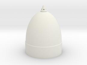 1/16 Sturmtiger Ammunition head v2 in White Natural Versatile Plastic