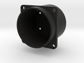 Nose up/Down case in Black Natural Versatile Plastic
