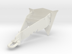 Anchor Typ B in White Natural Versatile Plastic: 1:75
