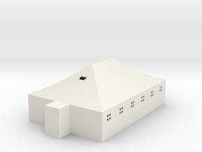 Tent 29x19 adjusted ridgeline in White Natural Versatile Plastic