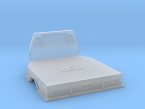 1/64 scale flatbed in Smooth Fine Detail Plastic