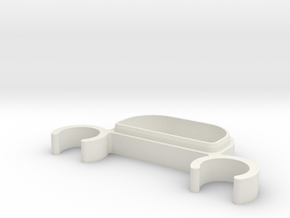 Zocus - Blend Micro Box - Lid in White Natural Versatile Plastic